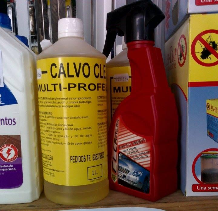 Nuevo limpiador: desengrasante, limpiador acero inox., limpiador de plásticos, elimina manchas de paredes, puede utilizarse con máquinas de presión + REGALO eliminador de insectos