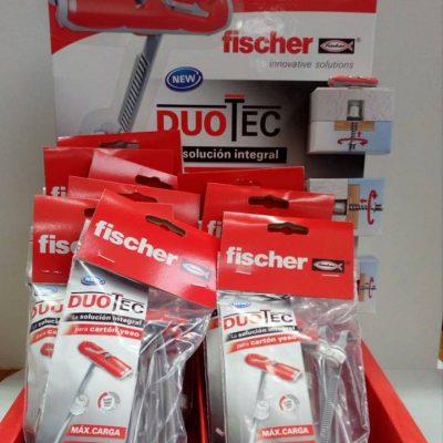 Nuevo taco de Fischer para todo tipo de materiales