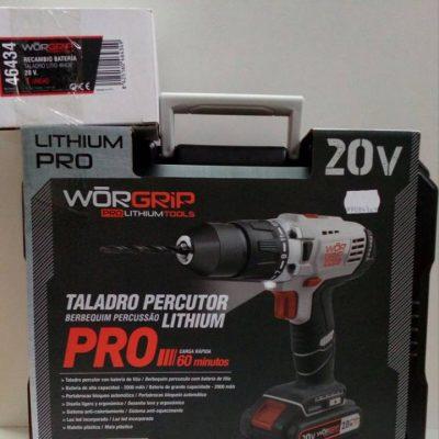 Taladro percutor Lithium Pro 20v