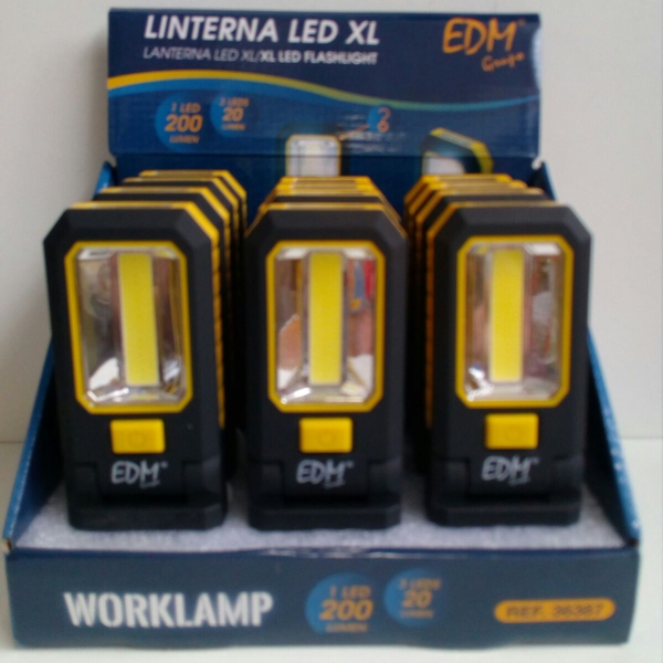 Linterna LED XL - 1 led 200 lumen