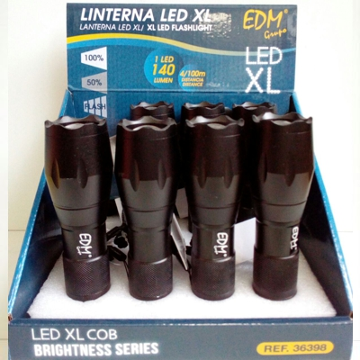 Linterna LED XL - 1 led 140 lumen