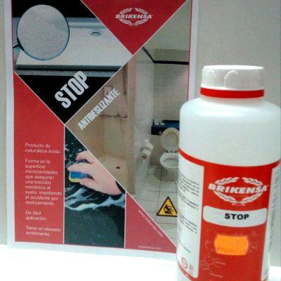 Stop: antideslizante