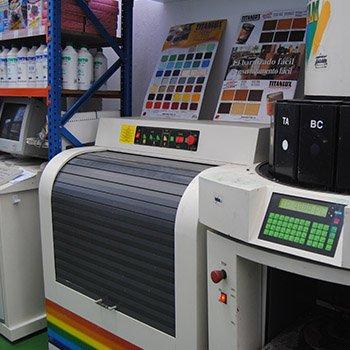 Máquina de pintura